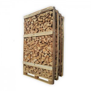 2m3 pallet kiln dried Oak 25cm logs